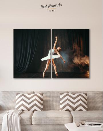 Ballerina Photo Canvas Wall Art - image 10