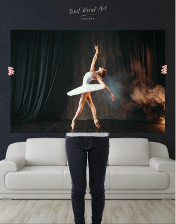 Ballerina Photo Canvas Wall Art - image 9