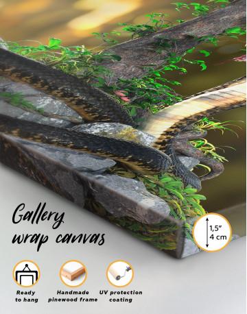 King Cobra Canvas Wall Art - image 9