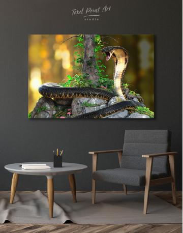 King Cobra Canvas Wall Art - image 5