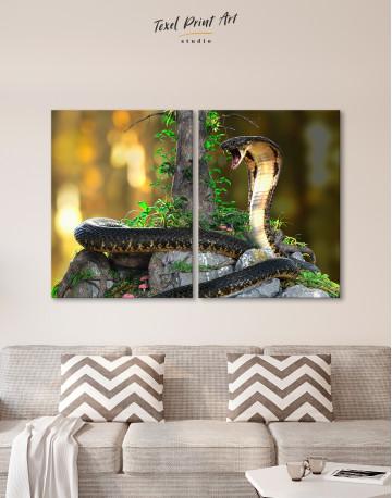 King Cobra Canvas Wall Art - image 1