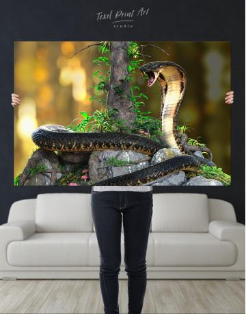 King Cobra Canvas Wall Art - image 10