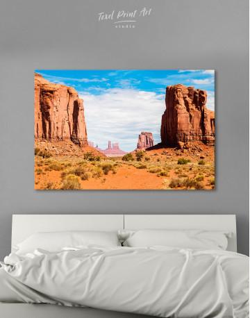 Monument Valley Utah Arizona Canvas Wall Art
