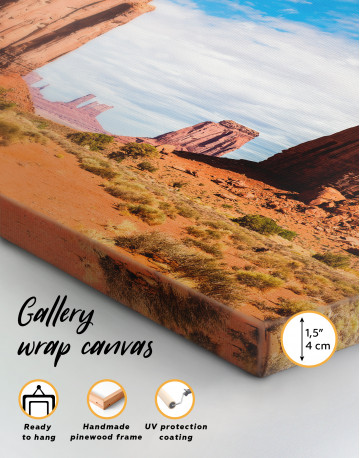 Monument Valley Utah Arizona Canvas Wall Art - image 8