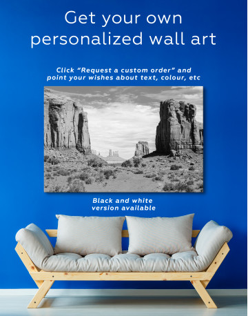Monument Valley Utah Arizona Canvas Wall Art - image 7