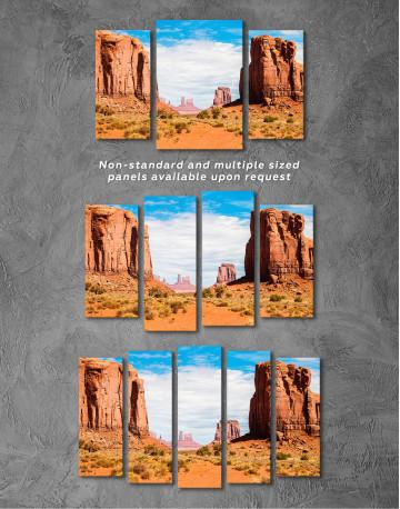 Monument Valley Utah Arizona Canvas Wall Art - image 5