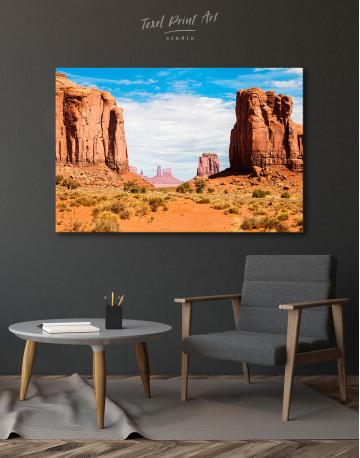 Monument Valley Utah Arizona Canvas Wall Art - image 4