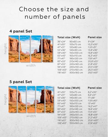 Monument Valley Utah Arizona Canvas Wall Art - image 2