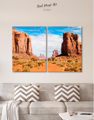 Monument Valley Utah Arizona Canvas Wall Art - image 10