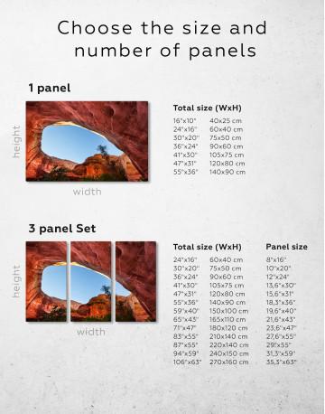 Paria Canyon Vermilion Cliffs Canvas Wall Art - image 1