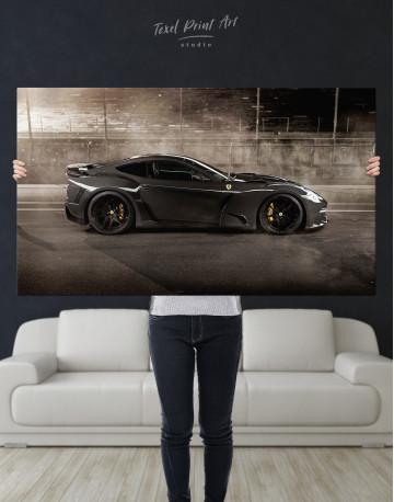 Black Ferrari F12 Berlinetta Canvas Wall Art - image 9