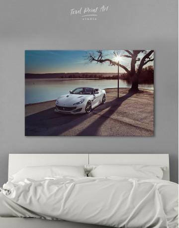 2019 Ferrari Portofino Canvas Wall Art