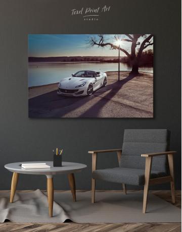 2019 Ferrari Portofino Canvas Wall Art - image 4