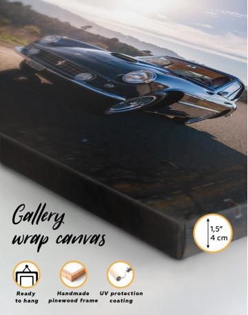 1961 Ferrari 400 Superamerica Canvas Wall Art - image 3