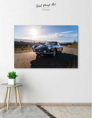 1961 Ferrari 400 Superamerica Canvas Wall Art - image 9