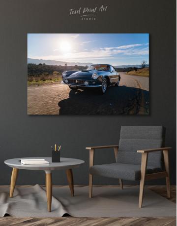 1961 Ferrari 400 Superamerica Canvas Wall Art - image 7