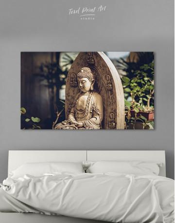 Buddah Statue Canvas Wall Art