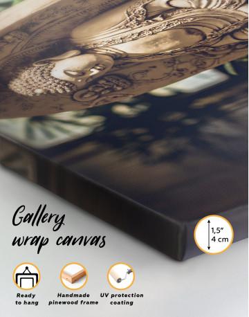 Buddah Statue Canvas Wall Art - image 8