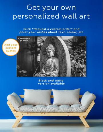 Buddah Statue Canvas Wall Art - image 7