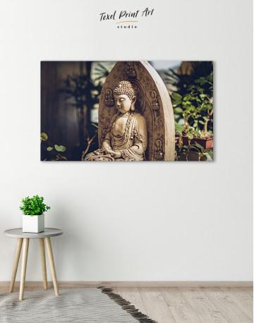 Buddah Statue Canvas Wall Art - image 6