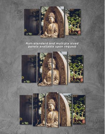 Buddah Statue Canvas Wall Art - image 5