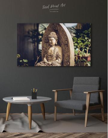 Buddah Statue Canvas Wall Art - image 4