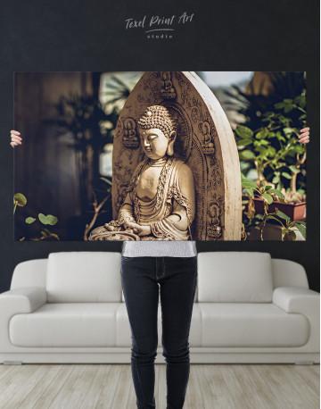 Buddah Statue Canvas Wall Art - image 9