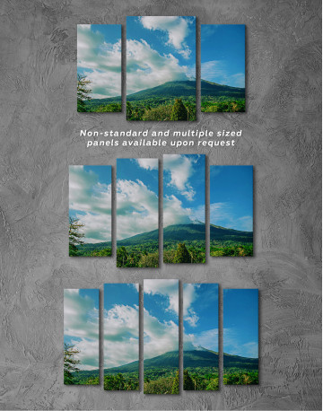 Kanlaon Volcano Canvas Wall Art - image 5