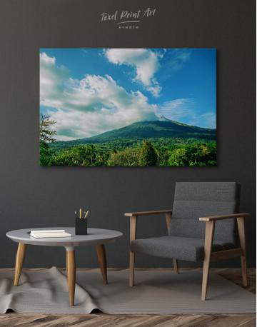 Kanlaon Volcano Canvas Wall Art - image 4