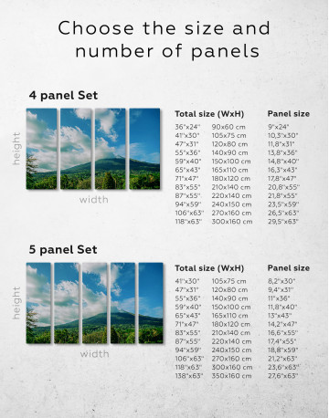 Kanlaon Volcano Canvas Wall Art - image 1