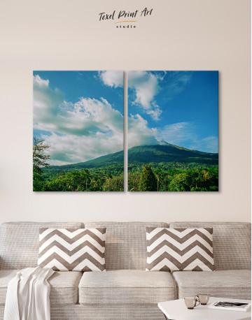Kanlaon Volcano Canvas Wall Art - image 9