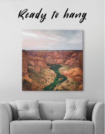 Canyon De Chelly landscape Canvas Wall Art