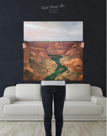 Canyon De Chelly landscape Canvas Wall Art - image 2