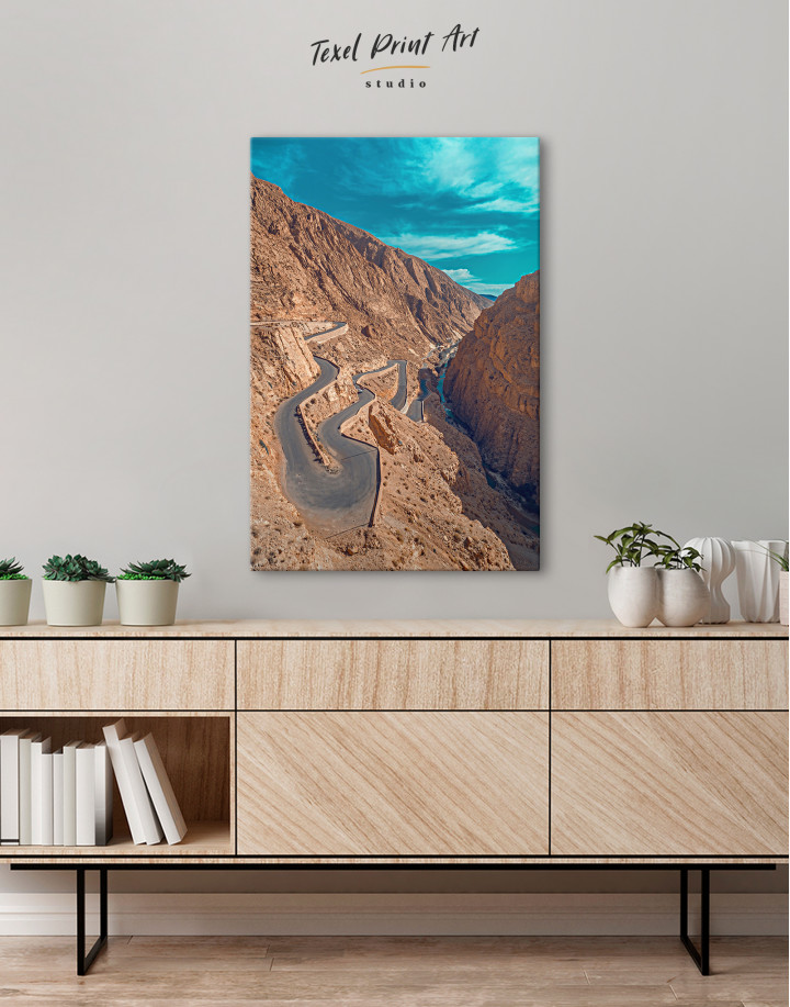 Dades Gorges Morocco Canvas Wall Art