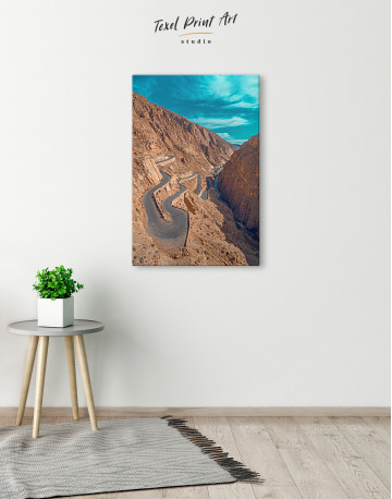 Dades Gorges Morocco Canvas Wall Art - image 4
