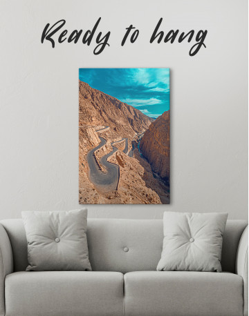 Dades Gorges Morocco Canvas Wall Art - image 1