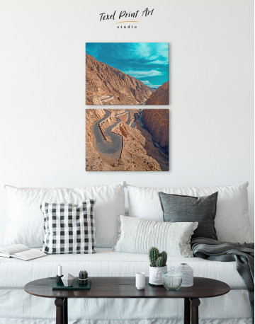 Dades Gorges Morocco Canvas Wall Art - image 2