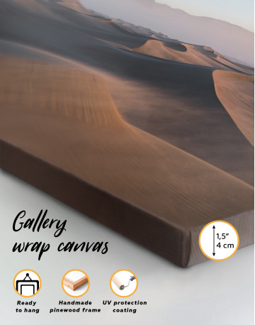 Desert Dune Landscape Canvas Wall Art - image 1