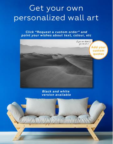 Desert Dune Landscape Canvas Wall Art - image 2