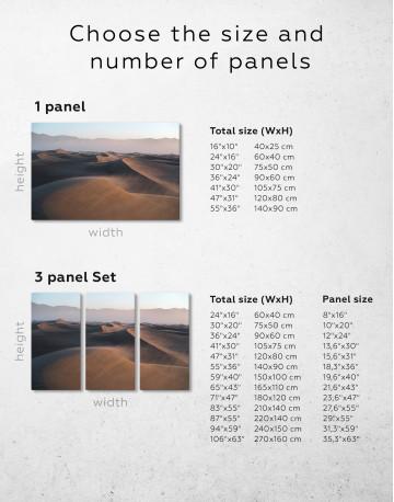 Desert Dune Landscape Canvas Wall Art - image 7