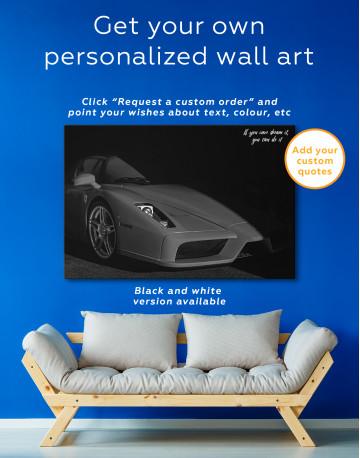 Ferrari Enzo Canvas Wall Art - image 7