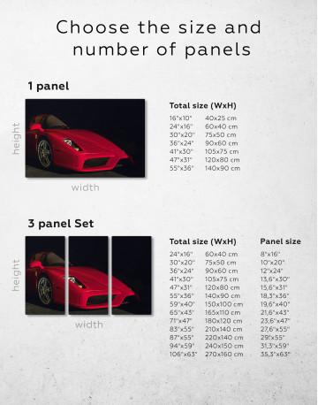 Ferrari Enzo Canvas Wall Art - image 1