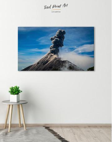 Fuego Volcano Erupting Canvas Wall Art - image 6