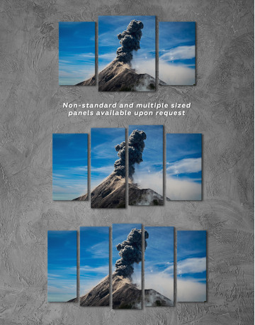 Fuego Volcano Erupting Canvas Wall Art - image 5