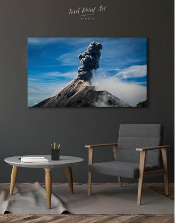 Fuego Volcano Erupting Canvas Wall Art - image 4