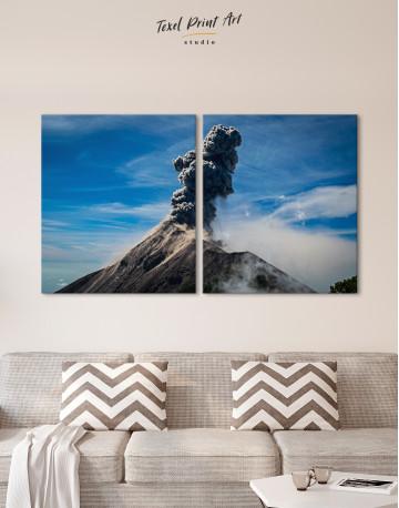 Fuego Volcano Erupting Canvas Wall Art - image 10