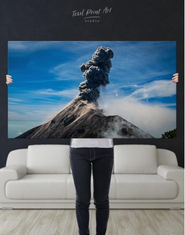 Fuego Volcano Erupting Canvas Wall Art - image 9