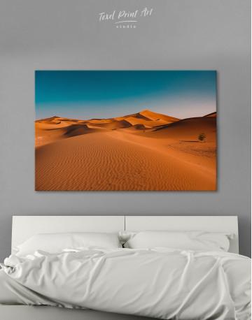 Beautiful Sand of Desert Dune Canvas Wall Art