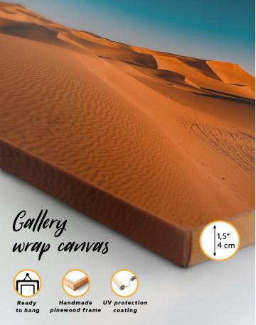 Beautiful Sand of Desert Dune Canvas Wall Art - image 2