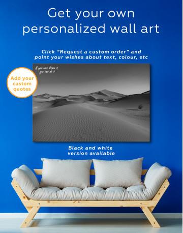 Beautiful Sand of Desert Dune Canvas Wall Art - image 3
